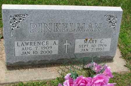 PINKELMAN, MARY C. - Cedar County, Nebraska | MARY C. PINKELMAN - Nebraska Gravestone Photos