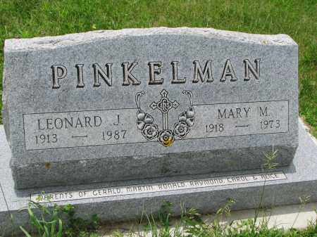 PINKELMAN, MARY M. - Cedar County, Nebraska | MARY M. PINKELMAN - Nebraska Gravestone Photos