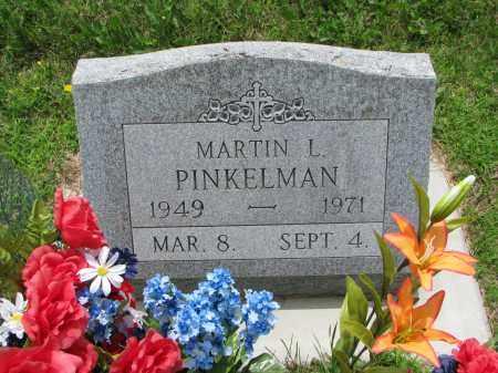 PINKELMAN, MARTIN L. - Cedar County, Nebraska | MARTIN L. PINKELMAN - Nebraska Gravestone Photos