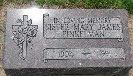 PINKELMAN, MARY - Cedar County, Nebraska | MARY PINKELMAN - Nebraska Gravestone Photos