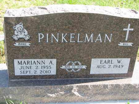 PINKELMAN, MARIANN A. - Cedar County, Nebraska   MARIANN A. PINKELMAN - Nebraska Gravestone Photos