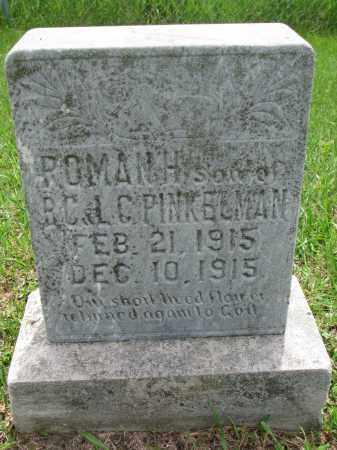 PINKELMAN, ROMAN H. - Cedar County, Nebraska   ROMAN H. PINKELMAN - Nebraska Gravestone Photos