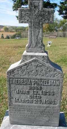 PINKELMAN, THERESIA - Cedar County, Nebraska | THERESIA PINKELMAN - Nebraska Gravestone Photos