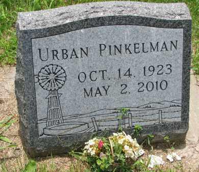 PINKELMAN, URBAN - Cedar County, Nebraska | URBAN PINKELMAN - Nebraska Gravestone Photos