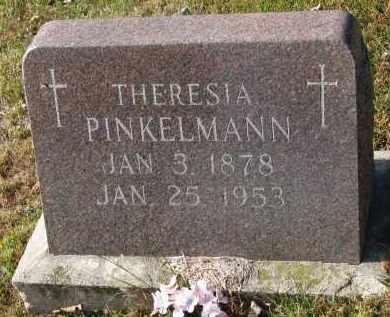 PINKELMANN, THERESIA - Cedar County, Nebraska   THERESIA PINKELMANN - Nebraska Gravestone Photos