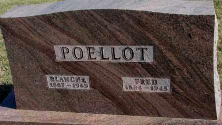 POELLOT, BLANCHE - Cedar County, Nebraska   BLANCHE POELLOT - Nebraska Gravestone Photos