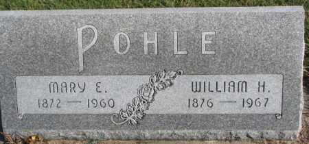 POHLE, WILLIAM H. - Cedar County, Nebraska | WILLIAM H. POHLE - Nebraska Gravestone Photos