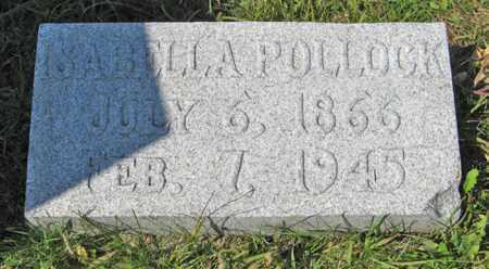 POLLOCK, ISABELLA - Cedar County, Nebraska | ISABELLA POLLOCK - Nebraska Gravestone Photos