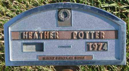 POTTER, HEATHER - Cedar County, Nebraska   HEATHER POTTER - Nebraska Gravestone Photos