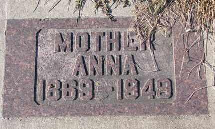 POTTS, ANNA - Cedar County, Nebraska | ANNA POTTS - Nebraska Gravestone Photos