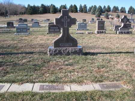 POTTS, FAMILY PLOT - Cedar County, Nebraska | FAMILY PLOT POTTS - Nebraska Gravestone Photos
