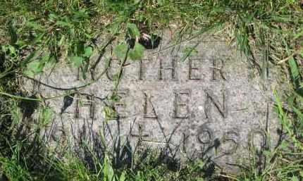 POTTS, HELEN (FOOTSTONE) - Cedar County, Nebraska   HELEN (FOOTSTONE) POTTS - Nebraska Gravestone Photos