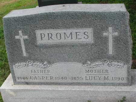 PROMES, LUCY M. - Cedar County, Nebraska | LUCY M. PROMES - Nebraska Gravestone Photos