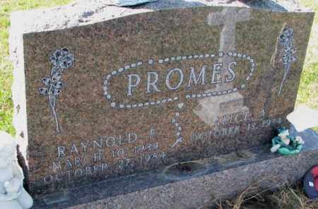 PROMES, ALICE A. - Cedar County, Nebraska   ALICE A. PROMES - Nebraska Gravestone Photos
