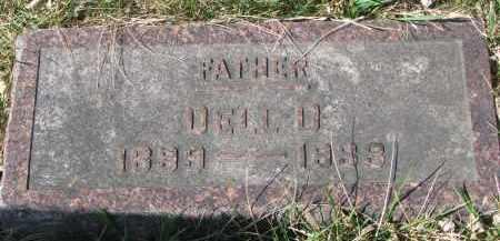 PROVANCHA, DELL D. - Cedar County, Nebraska   DELL D. PROVANCHA - Nebraska Gravestone Photos