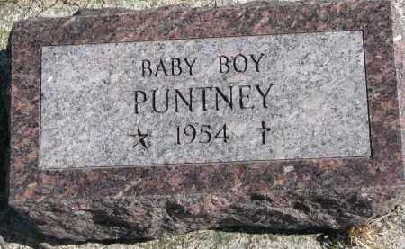 PUNTNEY, BABY BOY - Cedar County, Nebraska | BABY BOY PUNTNEY - Nebraska Gravestone Photos