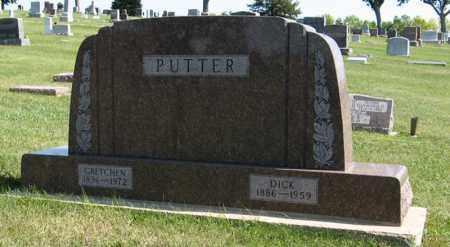 PUTTER, DICK - Cedar County, Nebraska   DICK PUTTER - Nebraska Gravestone Photos