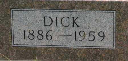 PUTTER, DICK (CLOSEUP) - Cedar County, Nebraska | DICK (CLOSEUP) PUTTER - Nebraska Gravestone Photos