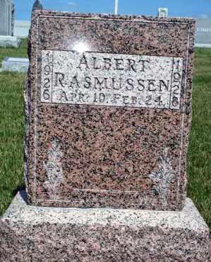 RASMUSSEN, ALBERT - Cedar County, Nebraska   ALBERT RASMUSSEN - Nebraska Gravestone Photos