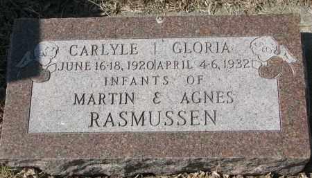 RASMUSSEN, GLORIA - Cedar County, Nebraska | GLORIA RASMUSSEN - Nebraska Gravestone Photos