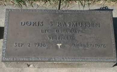 RASMUSSEN, DORIS S - Cedar County, Nebraska | DORIS S RASMUSSEN - Nebraska Gravestone Photos