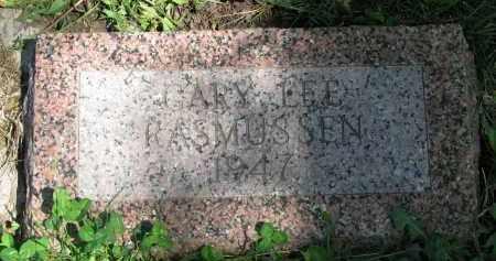 RASMUSSEN, GARY LEE - Cedar County, Nebraska | GARY LEE RASMUSSEN - Nebraska Gravestone Photos