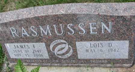 RASMUSSEN, LOIS D. - Cedar County, Nebraska | LOIS D. RASMUSSEN - Nebraska Gravestone Photos