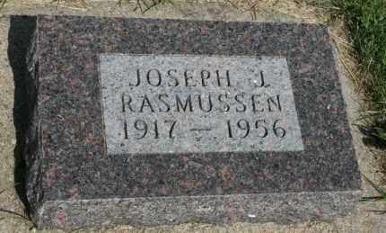 RASMUSSEN, JOESPH J - Cedar County, Nebraska | JOESPH J RASMUSSEN - Nebraska Gravestone Photos