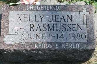 RASMUSSEN, KELLY JEAN - Cedar County, Nebraska | KELLY JEAN RASMUSSEN - Nebraska Gravestone Photos