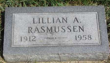RASMUSSEN, LILLIAN A. - Cedar County, Nebraska | LILLIAN A. RASMUSSEN - Nebraska Gravestone Photos