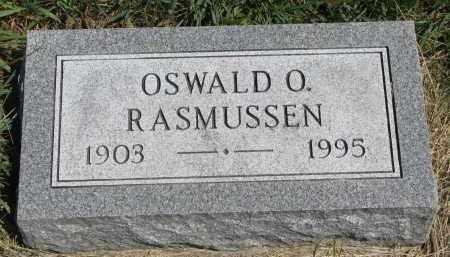 RASMUSSEN, OSWALD O. - Cedar County, Nebraska   OSWALD O. RASMUSSEN - Nebraska Gravestone Photos