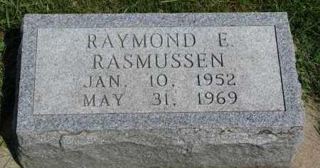 RASMUSSEN, RAYMOND E. - Cedar County, Nebraska | RAYMOND E. RASMUSSEN - Nebraska Gravestone Photos