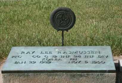 RASMUSSEN, RAY LEE - Cedar County, Nebraska | RAY LEE RASMUSSEN - Nebraska Gravestone Photos