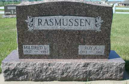 RASMUSSEN, MILDRED L - Cedar County, Nebraska | MILDRED L RASMUSSEN - Nebraska Gravestone Photos