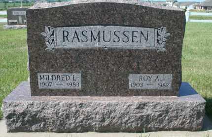 RASMUSSEN, ROY A - Cedar County, Nebraska | ROY A RASMUSSEN - Nebraska Gravestone Photos