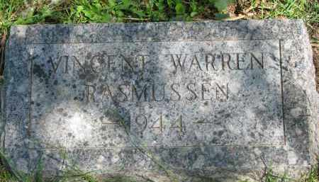 RASMUSSEN, VINCENT WARREN - Cedar County, Nebraska | VINCENT WARREN RASMUSSEN - Nebraska Gravestone Photos