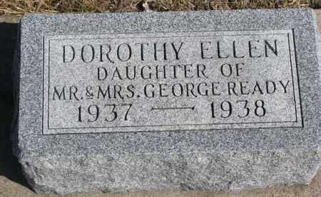 READY, DOROTHY ELLEN - Cedar County, Nebraska | DOROTHY ELLEN READY - Nebraska Gravestone Photos
