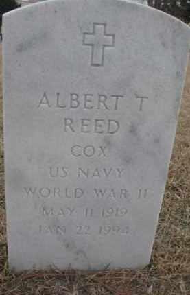 REED, ALBERT T. - Cedar County, Nebraska   ALBERT T. REED - Nebraska Gravestone Photos