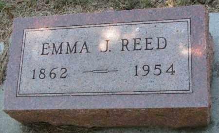 REED, EMMA J. - Cedar County, Nebraska   EMMA J. REED - Nebraska Gravestone Photos