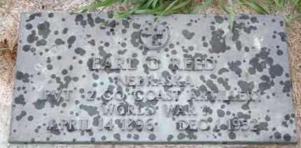 REED, EARL G - Cedar County, Nebraska | EARL G REED - Nebraska Gravestone Photos
