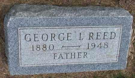 REED, GEORGE I. - Cedar County, Nebraska   GEORGE I. REED - Nebraska Gravestone Photos