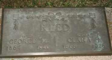 REED, GEORGE M - Cedar County, Nebraska | GEORGE M REED - Nebraska Gravestone Photos