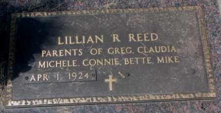 REED, LILLIAN R. - Cedar County, Nebraska | LILLIAN R. REED - Nebraska Gravestone Photos