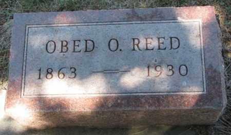 REED, OBED O. - Cedar County, Nebraska | OBED O. REED - Nebraska Gravestone Photos