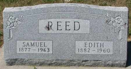 REED, SAMUEL - Cedar County, Nebraska | SAMUEL REED - Nebraska Gravestone Photos
