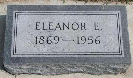 REESE, ELEANOR E. - Cedar County, Nebraska | ELEANOR E. REESE - Nebraska Gravestone Photos