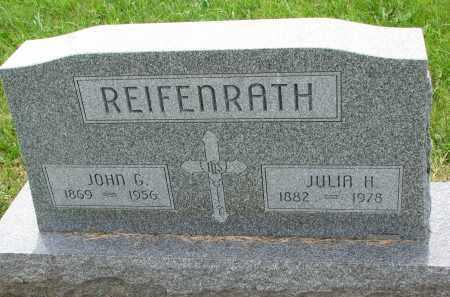 REIFENRATH, JULIA H. - Cedar County, Nebraska | JULIA H. REIFENRATH - Nebraska Gravestone Photos
