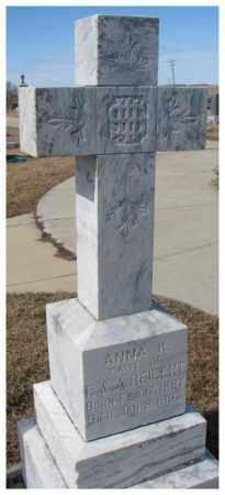 REIFERT, ANNA K. - Cedar County, Nebraska | ANNA K. REIFERT - Nebraska Gravestone Photos