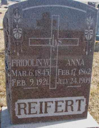 REIFERT, FRIDOLIN W. - Cedar County, Nebraska | FRIDOLIN W. REIFERT - Nebraska Gravestone Photos