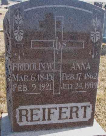 REIFERT, ANNA - Cedar County, Nebraska | ANNA REIFERT - Nebraska Gravestone Photos